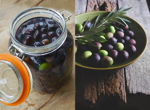 How to cure olives - Recipe