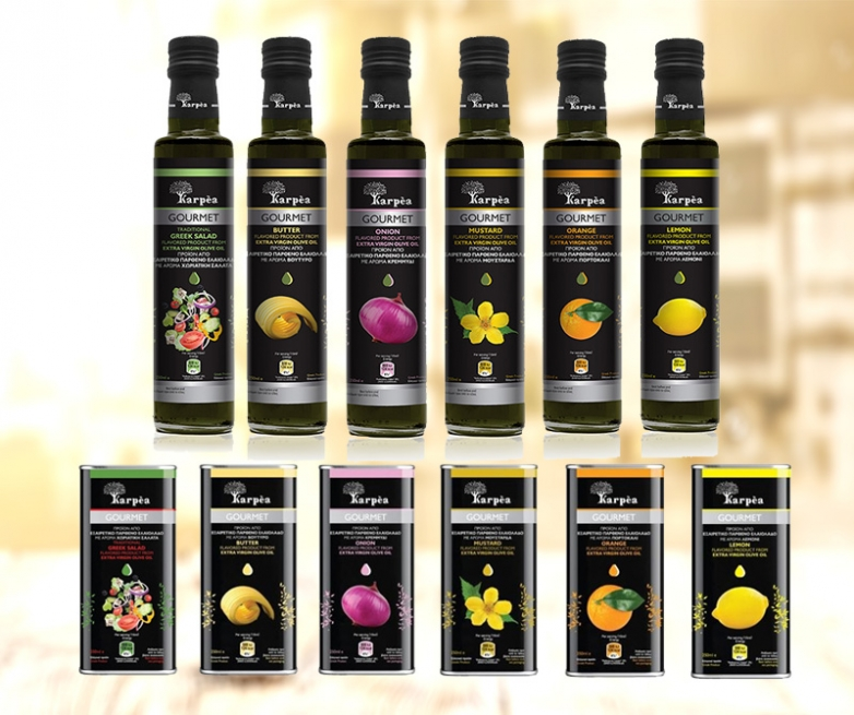 New packaging for Karpea Gourmet Flavors