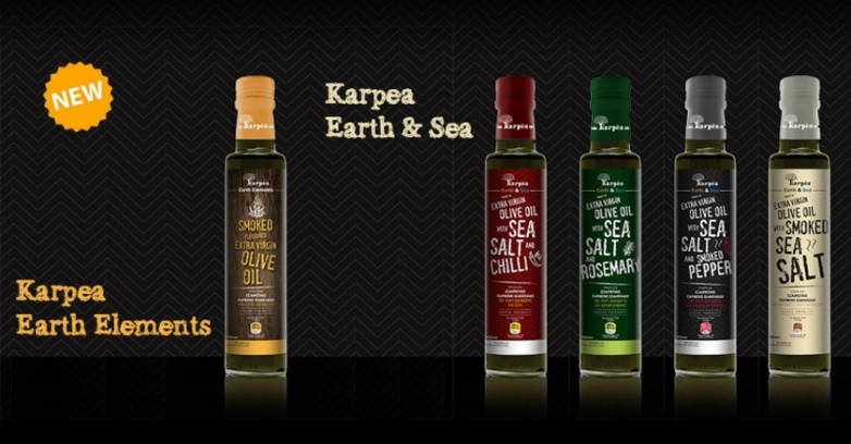 New products «Karpea Earth Elements» and «Karpea Earth & Sea»