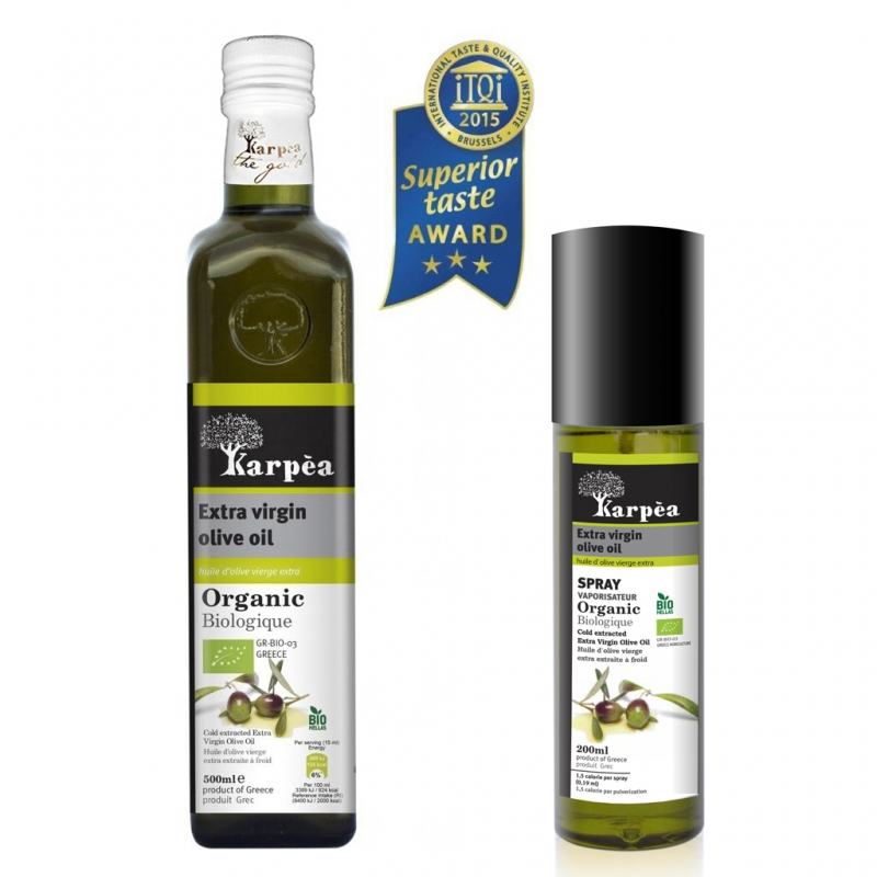 One more award for KARPEA Organic Oliveoil, 2015